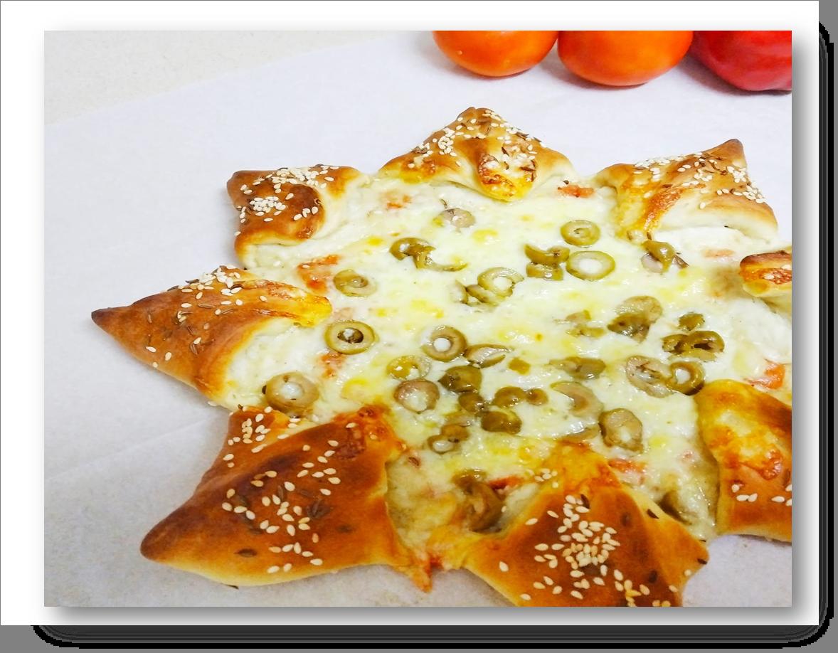 מתכון לפיצה נגיסי גבינה