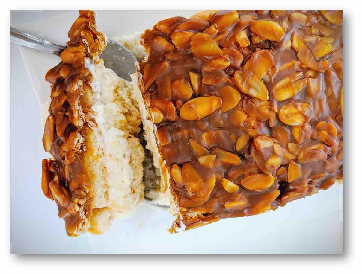 עוגת עקיצת הדבורה ללא אפיה ב10 דקות מתכון לראש השנה
