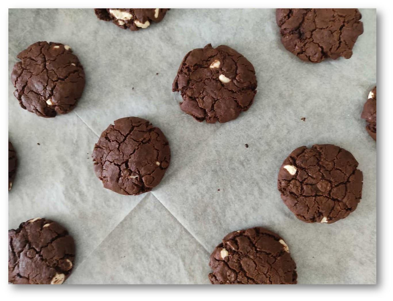 עוגיות שוקולד סופר שוקולדיות